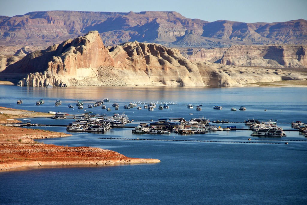 Antelope Point Marina, Glen Canyon Recreation Area, Arizona