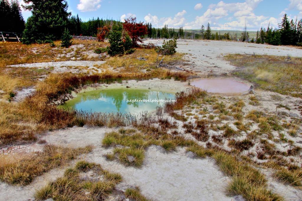 Thumb Paint Pots, West Thumb Geyser Basin, Yellowstone National Park