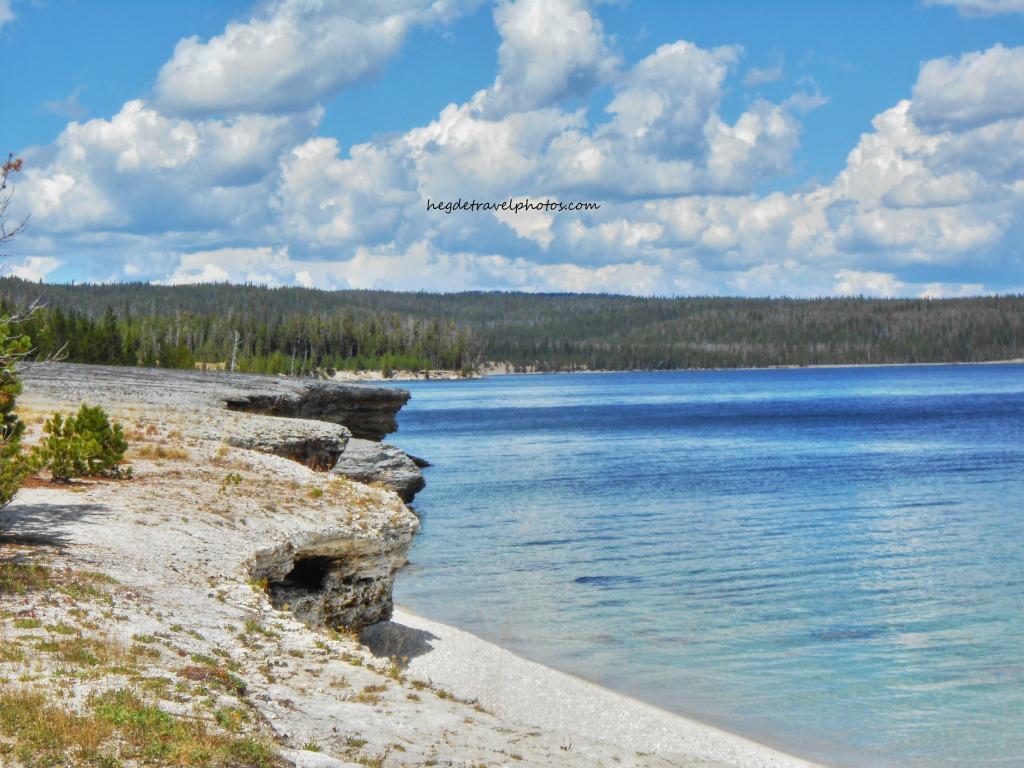 West Thumb Geyser Basin Trail, Yellowstone National Park