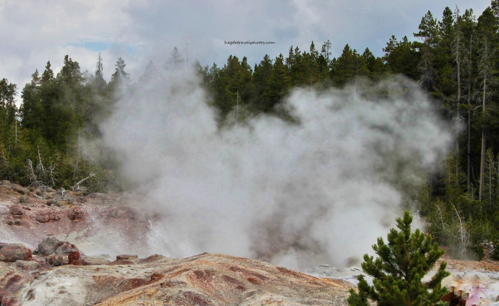 Steamboat Geyser, Back Basin Trail, Norris Geyser Basin, Yellowstone National Park