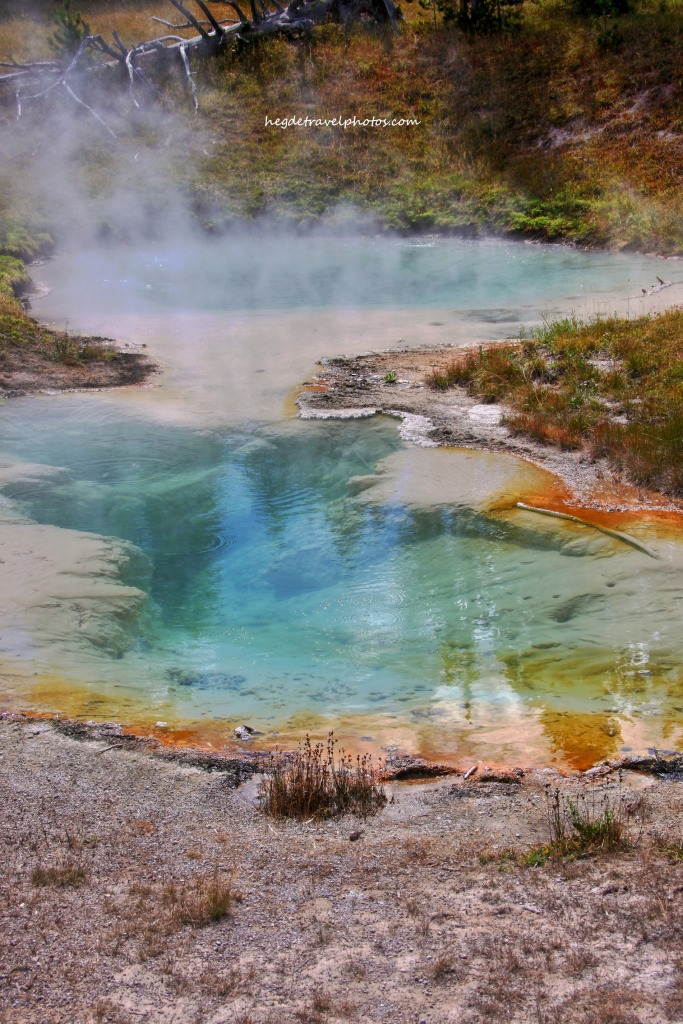 Seismograph Pool, West Thumb Geyser Basin, Yellowstone National Park