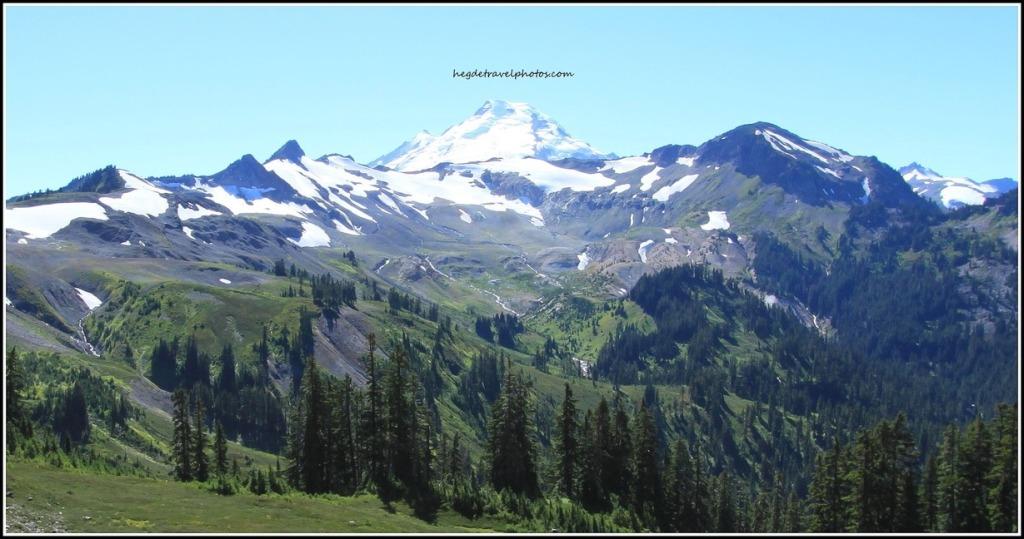 Mt Baker, Chain Lakes Loop Trail, North Cascades National Park