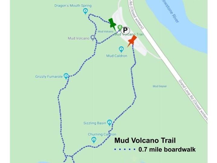 Mud Volcano Trail, Yellowstone National Park