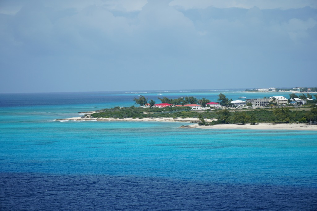 View of Pillory Beach from Cruise