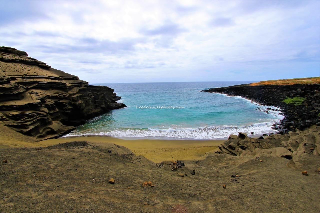 Green Sand Beach, Big Island,Hawaii