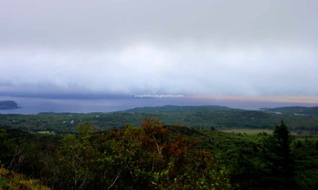 Blue HIll Overlook, Cadillac Mountain Road, Acadia National Park, Maine