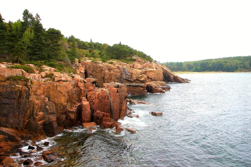 Park Loop Road, Acadia National Park, Maine