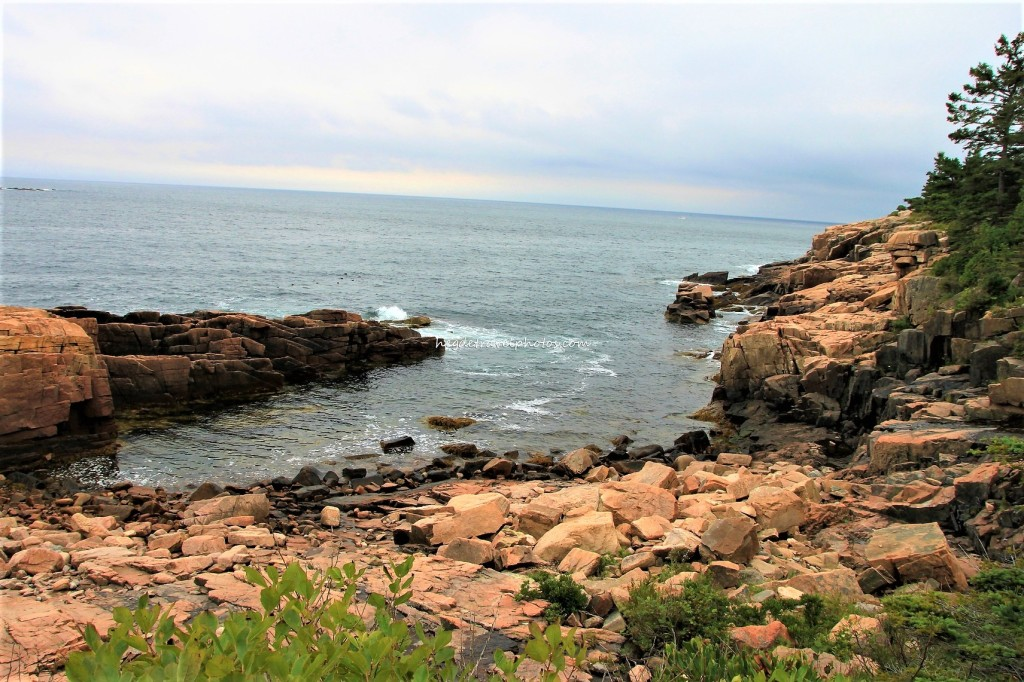 Monument Cove Overlook, Park Loop Road, Acadia National Park, Maine