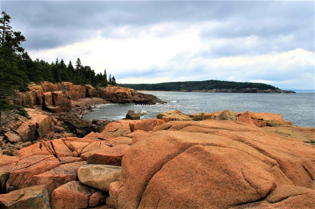 Otter Cliff Overlook, Park Loop Road, Acadia National Park, Maine