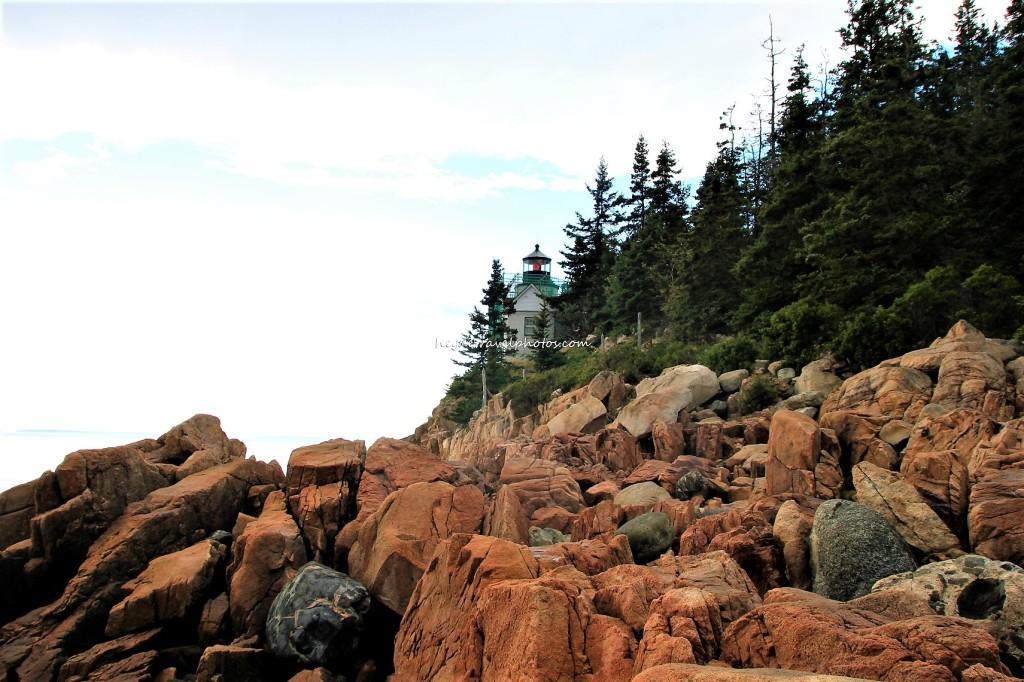 The Bass Harbor Head Lighthouse, Acadia National Park, Maine