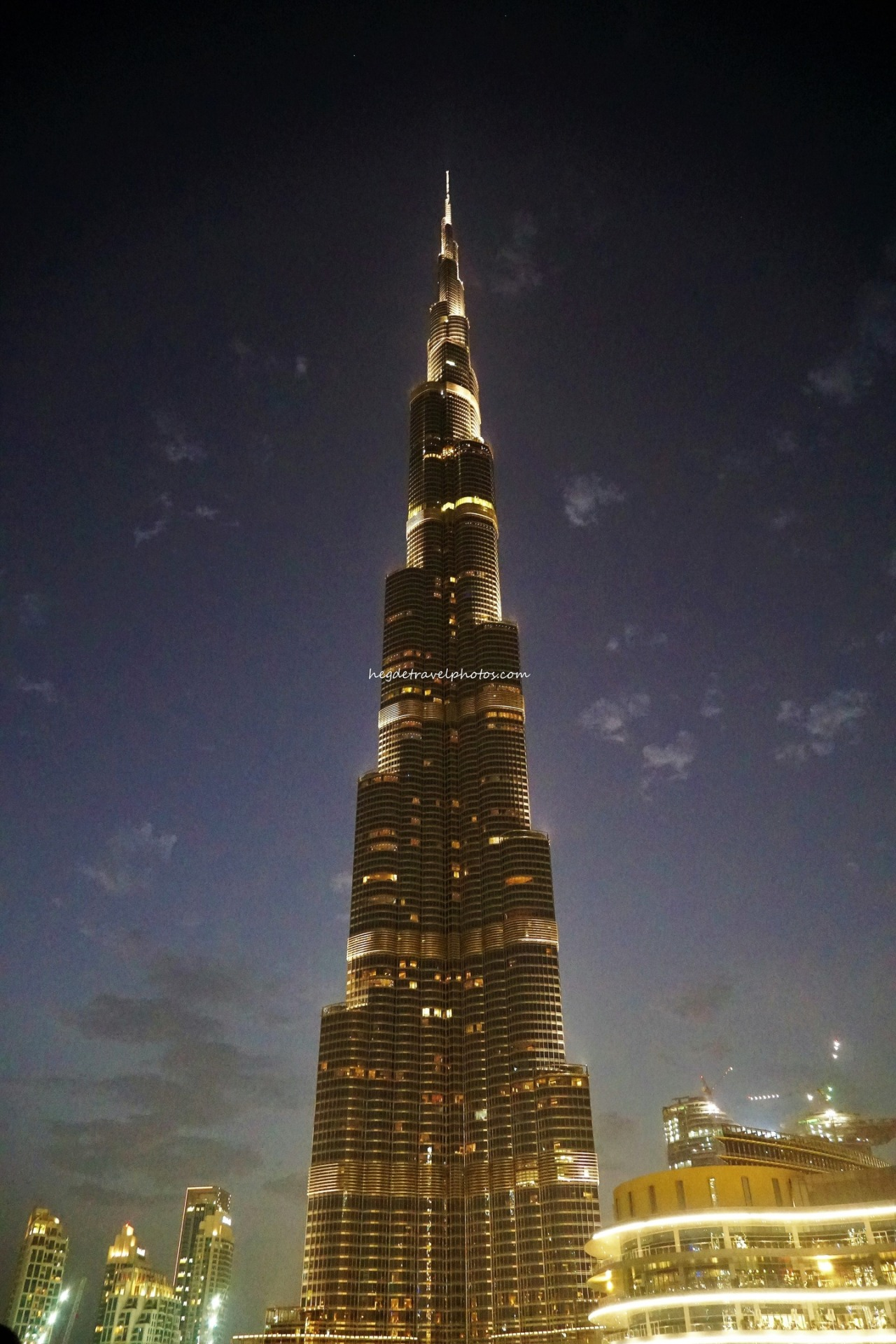 Dubai Burj Khalifa FountainShow
