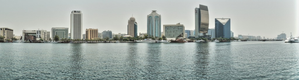 View of the creek in Old Dubai