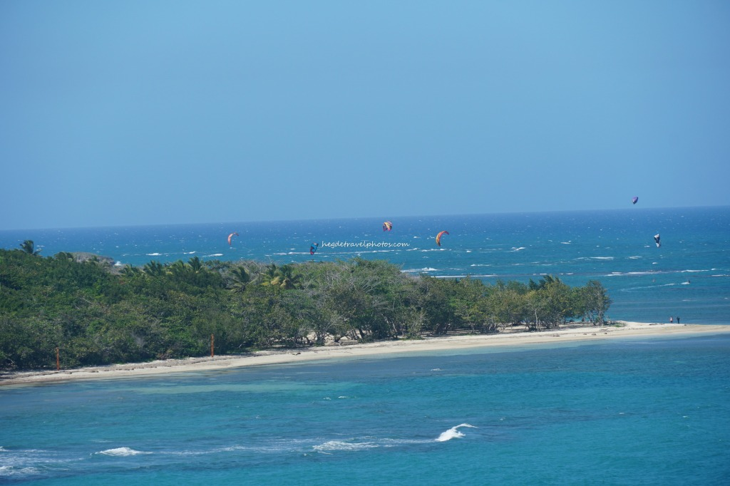 Kite surfing - Puerto Plata, Dominican Republic