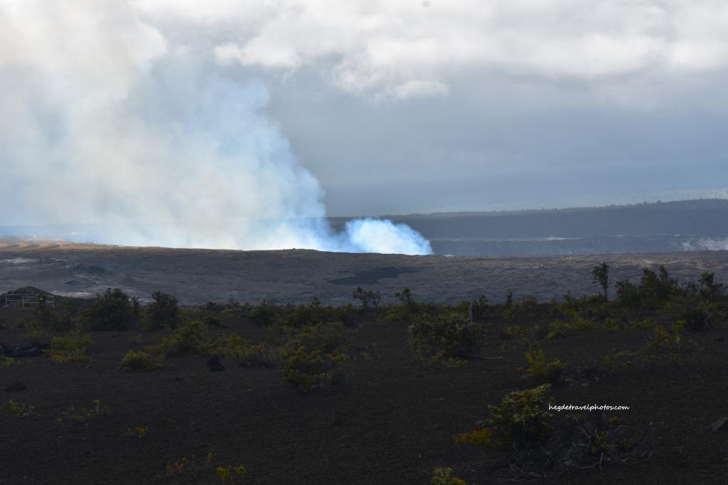 Halemaumau Crater, Crater Rim Drive, Hawaiʻi Volcanoes National Park