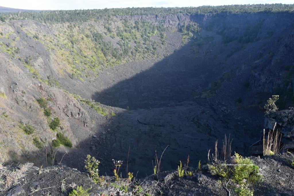 Puhimau Crater Overlook, Hawaiʻi Volcanoes National Park