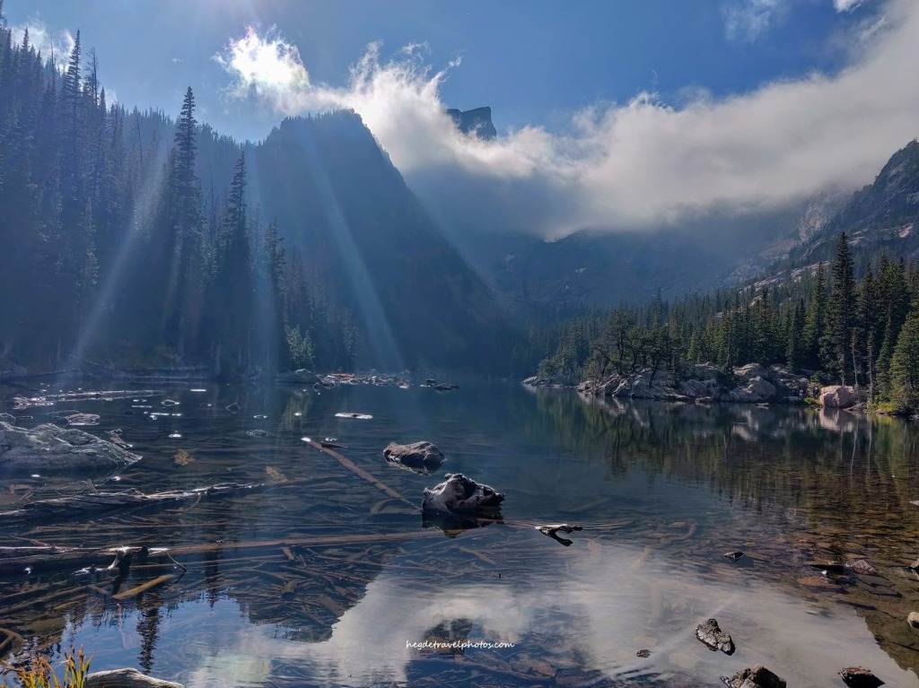 Dream Lake Trail, Rocky Mountain National Park, Colorado