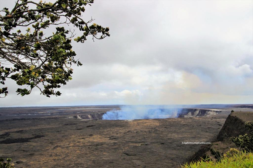 Kīlauea Overlook, Hawaiʻi Volcanoes National Park