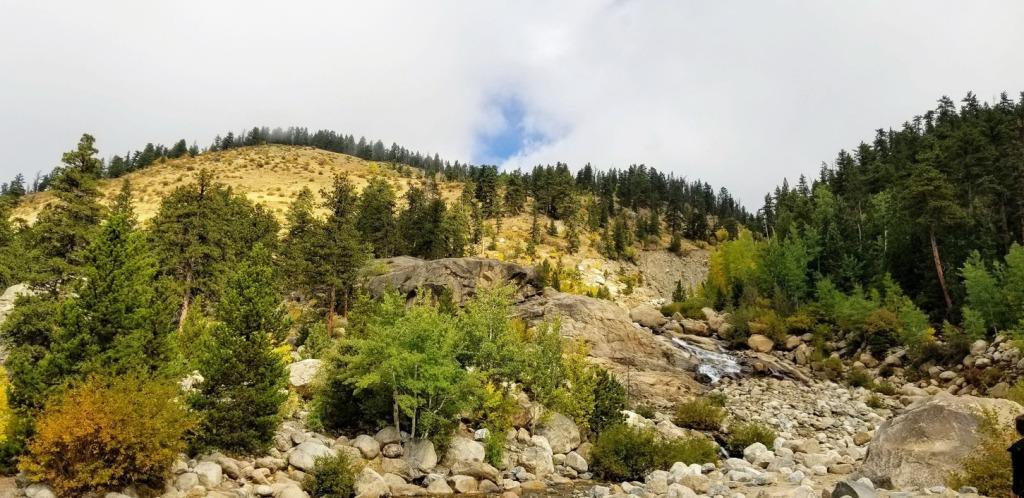 Alluvial Fan Falls, Rocky Mountain National Park, Colorado