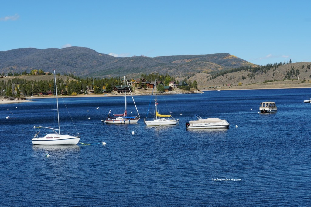 Indian Peaks Marina, Lake Granby, Rocky Mountain National Park, Colorado