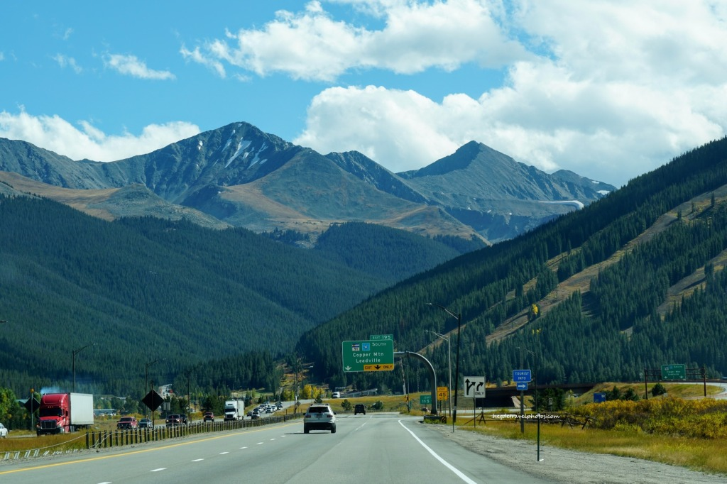 Interstate 70 West, Colorado