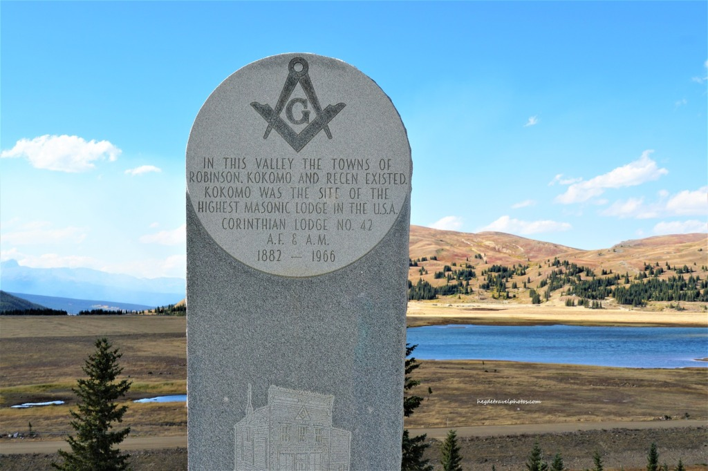 Kokomo Landmark, Valley of Ghost, Colorado