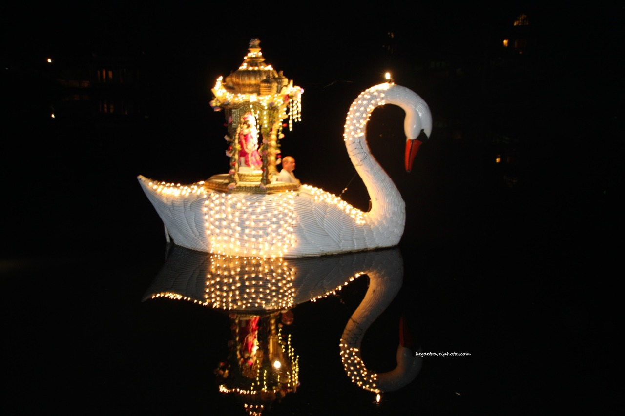 Swan Boat Festival, Palace of Gold, WestVirginia