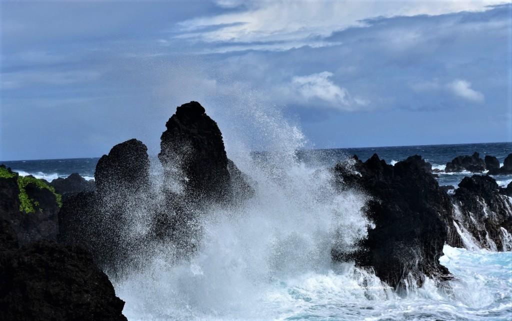 Laupāhoehoe Beach Park, Big Island, Hawaii