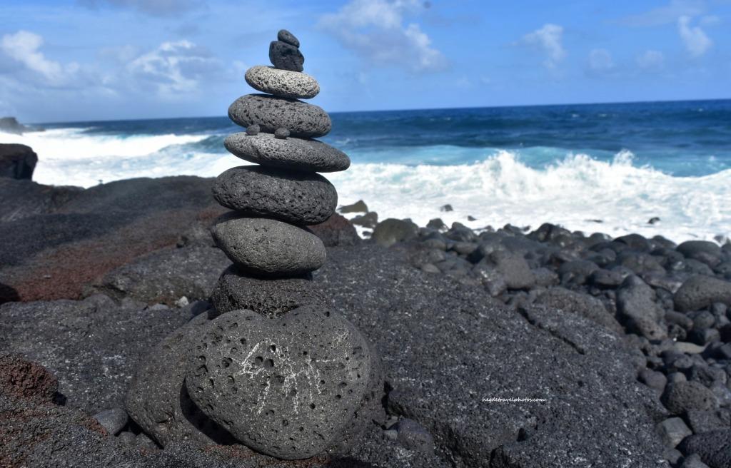 Kaimu Black Sand Beach, Big Island, Hawaii