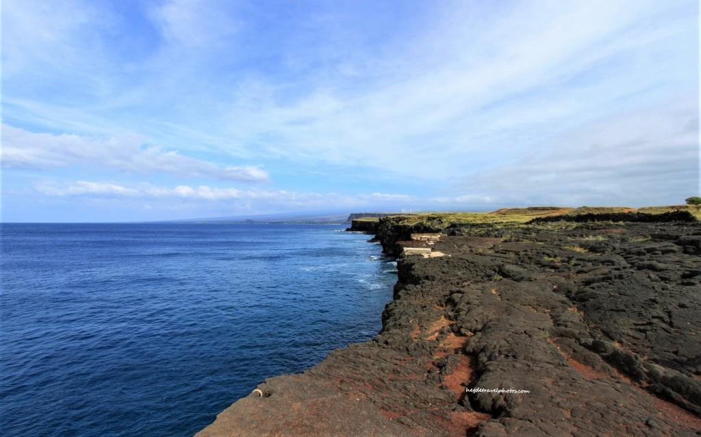 South Point Cliff, Big Island, Hawaii