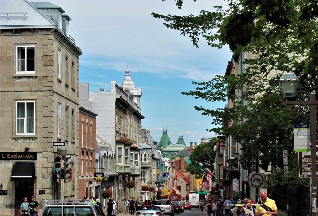 Quartier du Petit Champlain, Quebec City, Canada