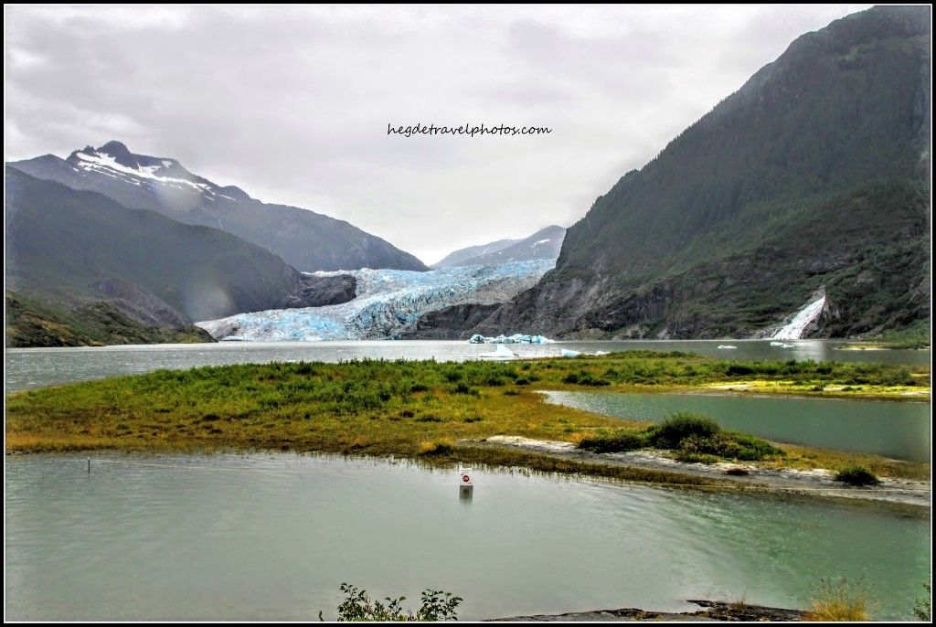 Mendenhall Glacier and Lake, Juneau, Alaska