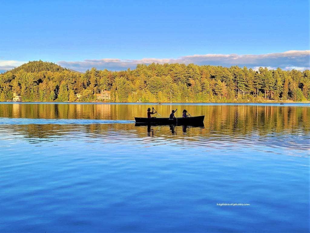 Mirror Lake, The Adirondacks, New York