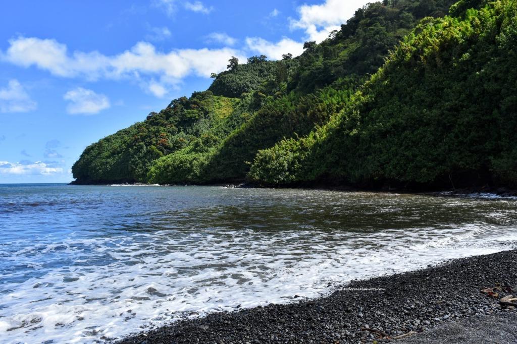 Honomanu Bay, Hana Highway, Maui, Hawaii