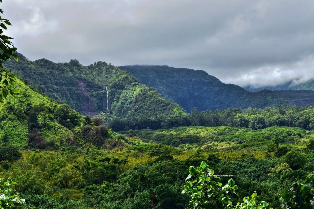 Wailua Valley Lookout, Hana Highway, Maui, Hawaii