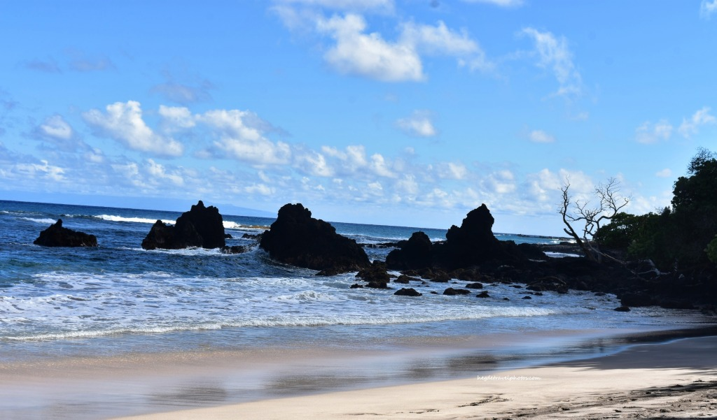 Hamoa Beach, Hana Highway, Maui, Hawaii