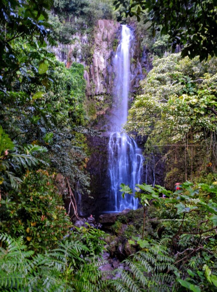 Wailua Falls, Hana Highway, Maui, Hawaii