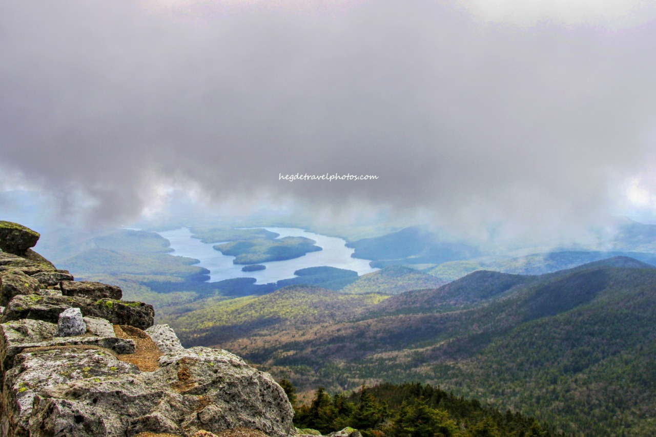 Drive to the Top of Whiteface Mountain, NewYork