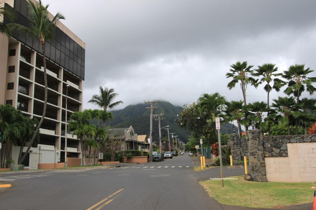 Kahului Town, East Maui, Hawaii