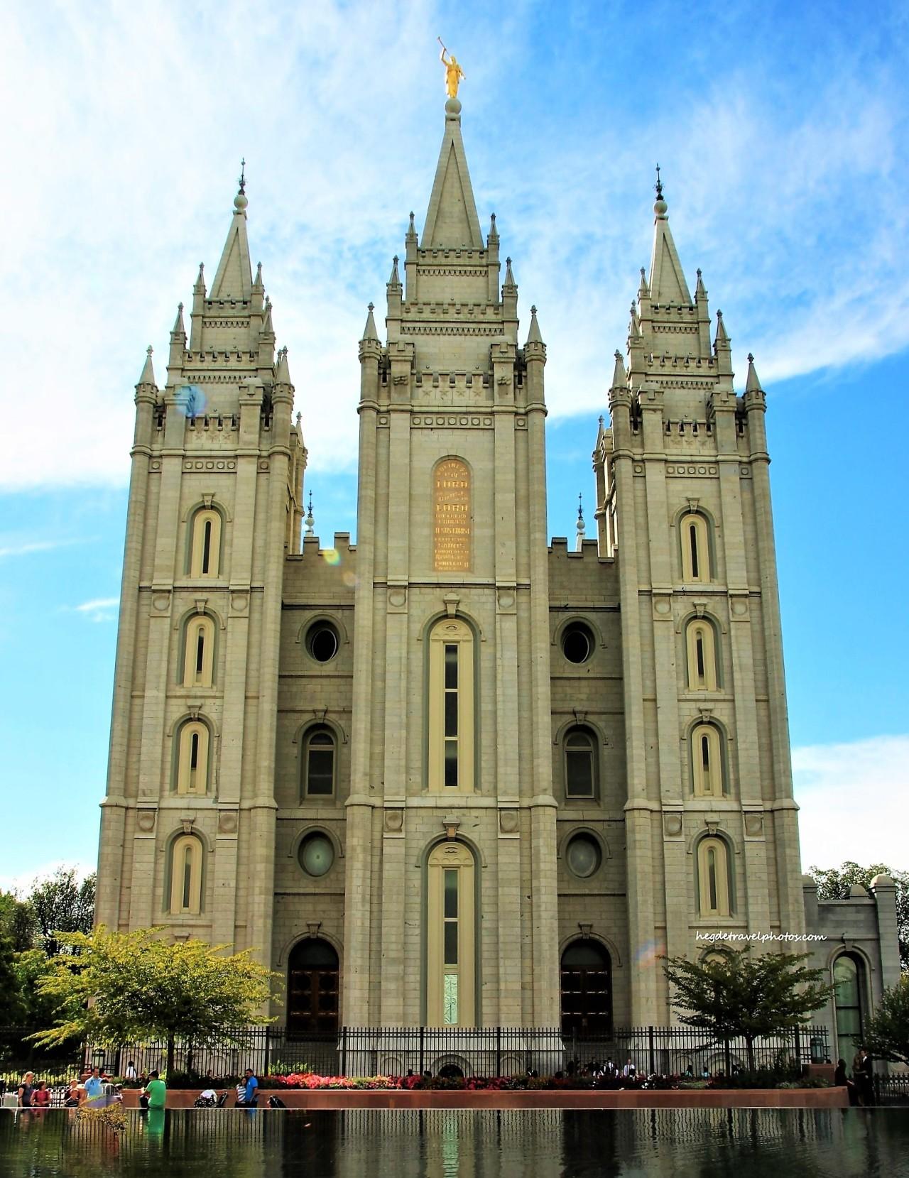 Salt Lake Temple,Utah